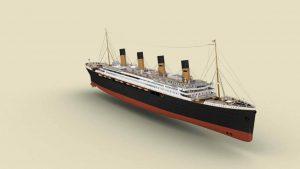 El Titanic II, una réplica exacta del famoso barco, zarpará en 2018