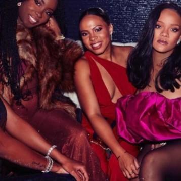Rihanna celebró sus 30 años con mega fiesta