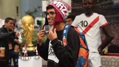 La fiebre latina por el fútbol toma las calles de Moscú