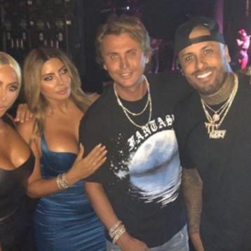 La foto de Kim Kardashian y Nicky Jam de fiesta en Miami que causa revuelo en las redes sociales