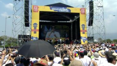 Reik puso a llorar y a bailar a todos con sus canciones en el Venezuela Aid Live (VIDEO)