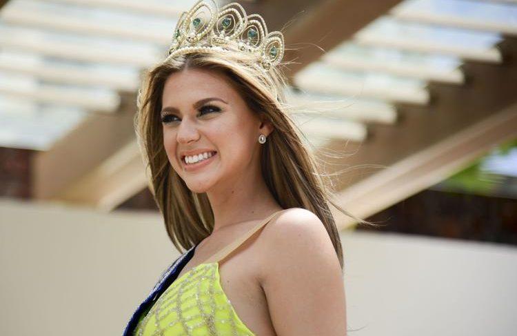 Madison Anderson presenta su foto oficial para Miss Universe
